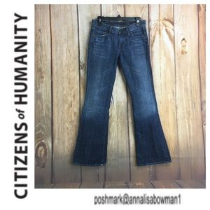 🐞Citizens of Humanity Ingrid Low Waist Flare Jean